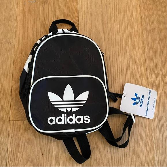 Adidas Originals Santiago Mini Backpack in Black